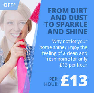 Let Your Home Shine for as Low as £13 per Hour