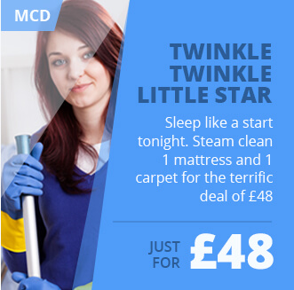 Great Value Bundle Deal on Steam Mattress and Carpet Cleaning